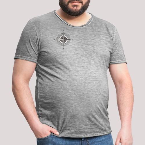 Windrose - Männer Vintage T-Shirt