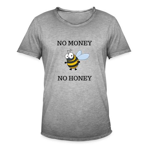 NO MONEY NO HONEY - Vintage-T-shirt herr