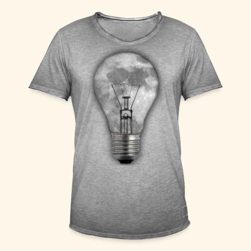 moon bulb - Camiseta vintage hombre
