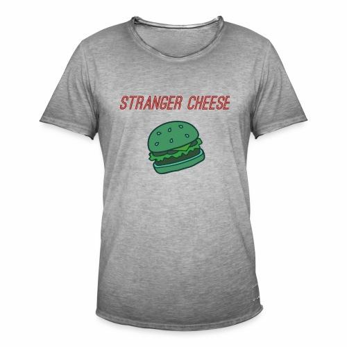 Stranger Cheese - T-shirt vintage Homme