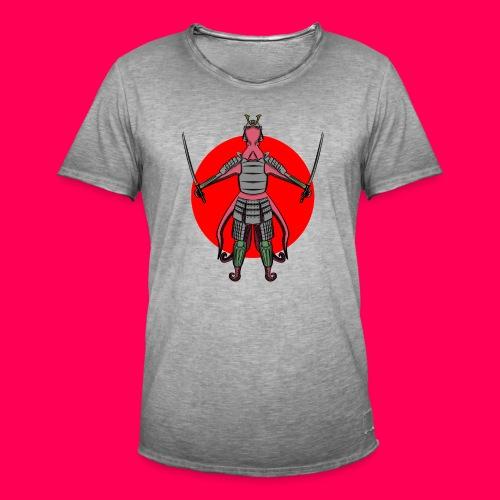 Octopus Samurai - Camiseta vintage hombre