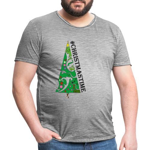 LIB TShirt Design - Männer Vintage T-Shirt