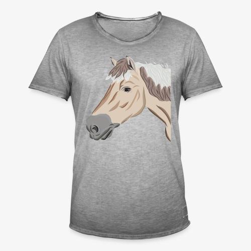 Fjord Pony - Männer Vintage T-Shirt