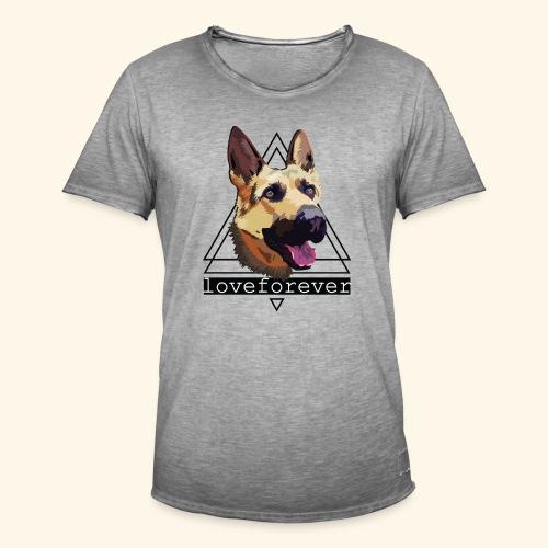 SHEPHERD LOVE FOREVER - Camiseta vintage hombre