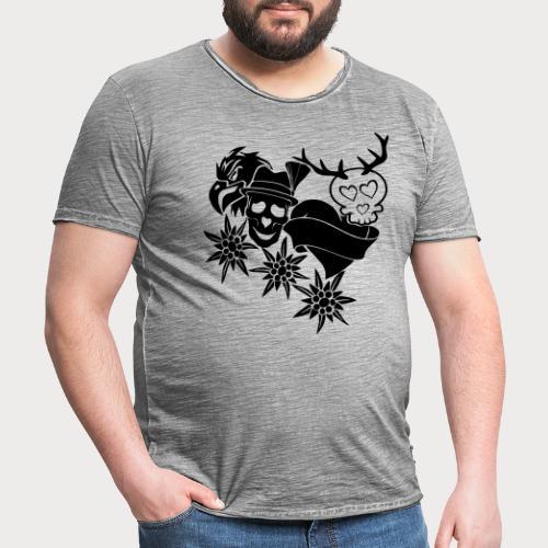 Tracht Old School - Männer Vintage T-Shirt