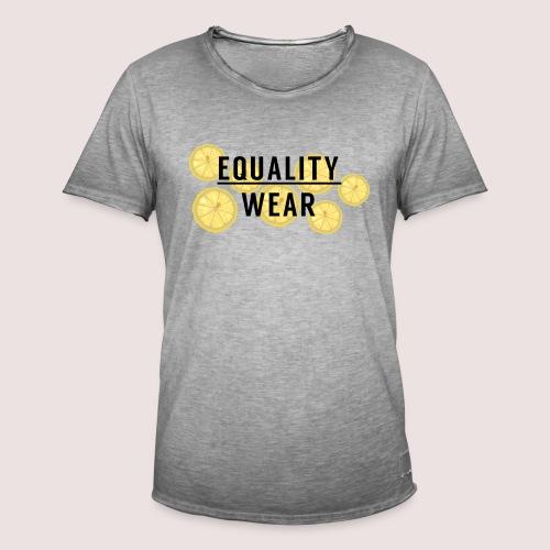 Equality Wear Fresh Lemon Edition - Men's Vintage T-Shirt
