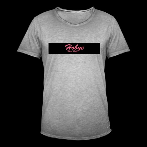 Hobye Weird Stuff logo - Maglietta vintage da uomo