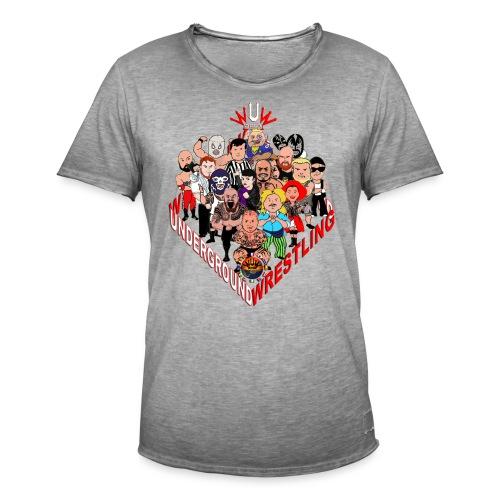 comics-wrestler - Männer Vintage T-Shirt