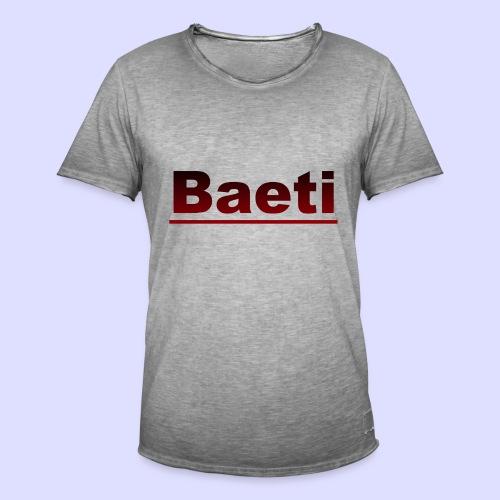 Baeti - Mannen Vintage T-shirt