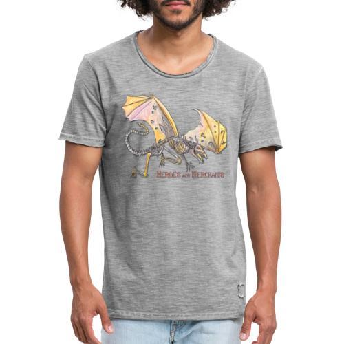Bonedragon - Männer Vintage T-Shirt