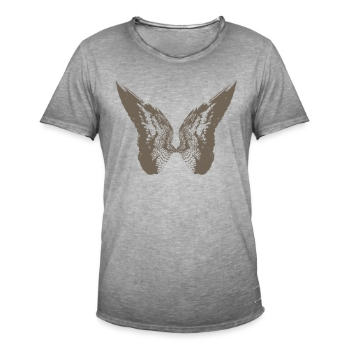 Tom Moriarty Drawn Wings Stone - Men's Vintage T-Shirt