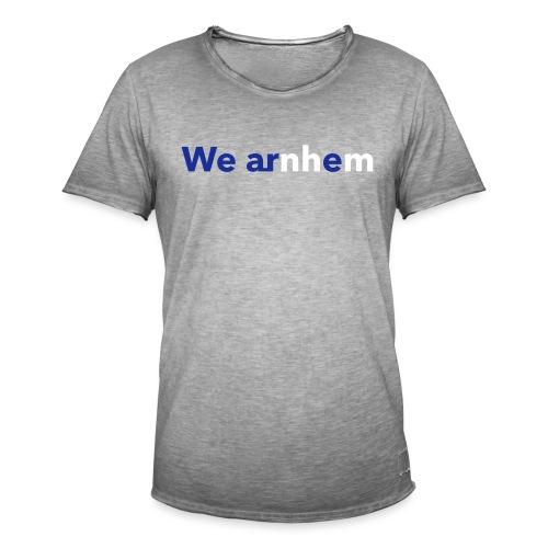 We arnhem - Mannen Vintage T-shirt