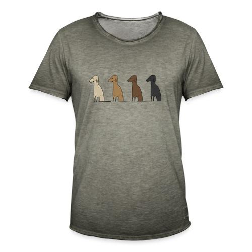 Logo Kusei - Männer Vintage T-Shirt