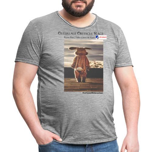 Osterlauf Obstacle Race - Männer Vintage T-Shirt