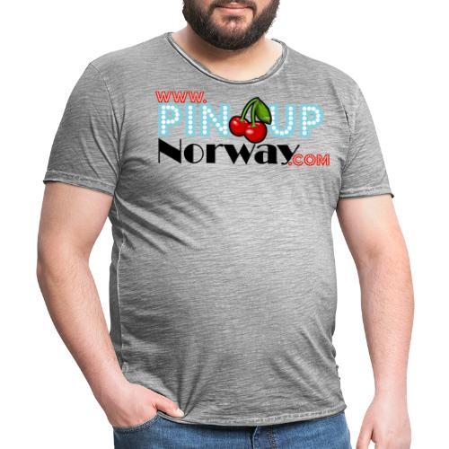 www.pinupnorway.com - Vintage-T-skjorte for menn