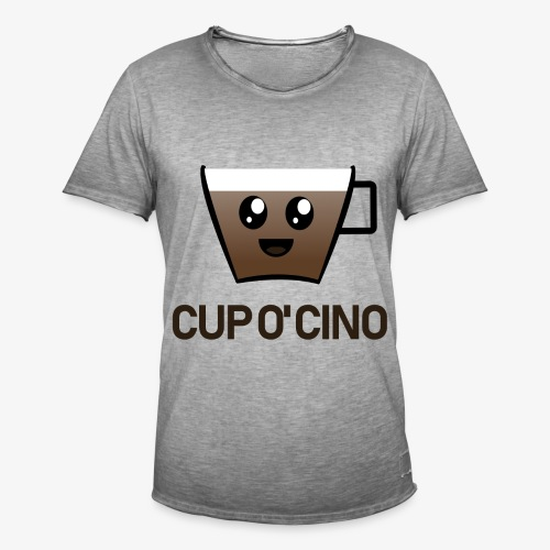 Kopje Cino - Mannen Vintage T-shirt