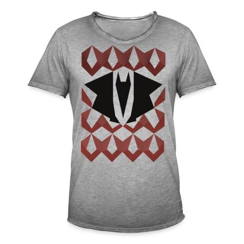 Dragon chain - Mannen Vintage T-shirt