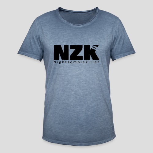 logo nzk films - Mannen Vintage T-shirt