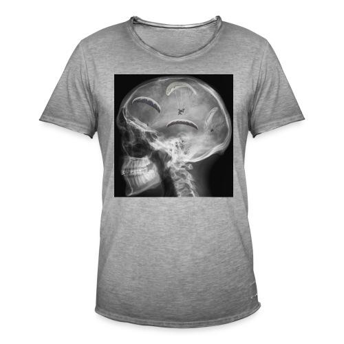 Paragliding im Kopf - Männer Vintage T-Shirt