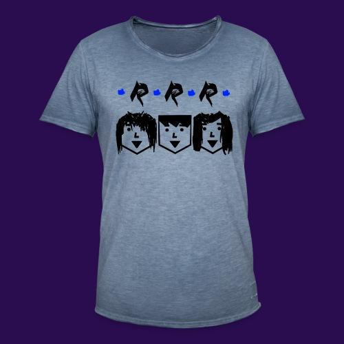 RRR - Heads - Männer Vintage T-Shirt
