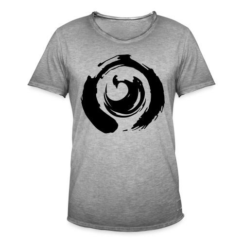 I am Netlight - Vintage-T-shirt herr