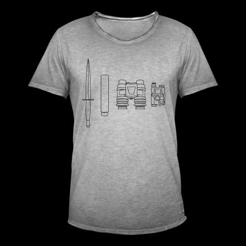 SOPMOD schwarz - Männer Vintage T-Shirt