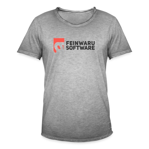 Feinwaru Full Logo - Men's Vintage T-Shirt