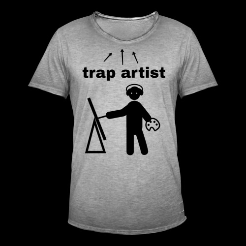 Trap Artist - Camiseta vintage hombre
