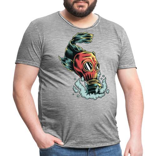 toxique - T-shirt vintage Homme
