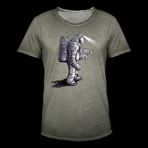 Lost Astronaut - Men's Vintage T-Shirt