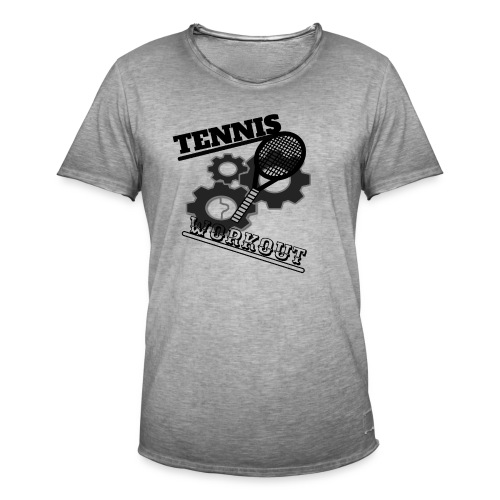 TENNIS WORKOUT - Men's Vintage T-Shirt