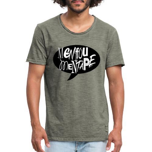 La bulle MENFOUMENTAPE by Alice Kara - T-shirt vintage Homme