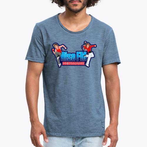 Rise FM Logo - Men's Vintage T-Shirt