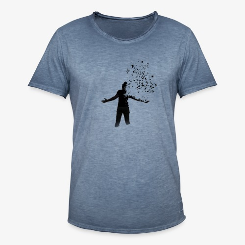 Coming apart. - Men's Vintage T-Shirt