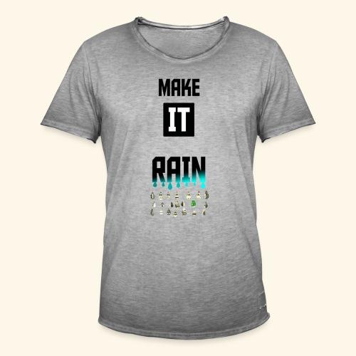 Make It Rain - T-shirt vintage Homme