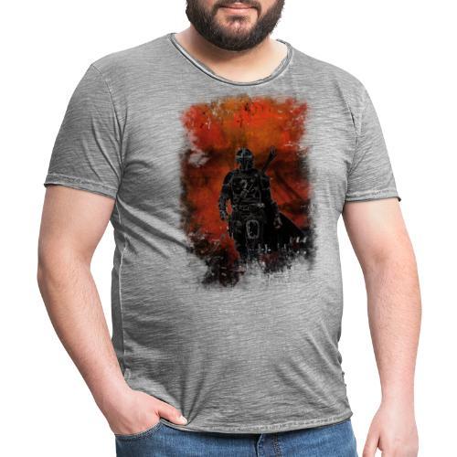 mandalorian - T-shirt vintage Homme