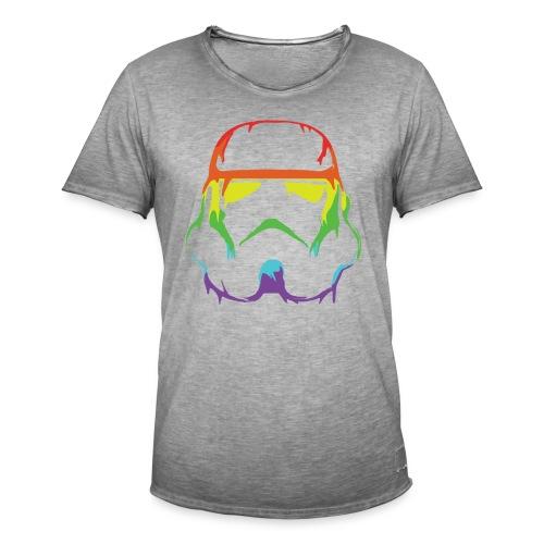Pride Trooper - simple - Miesten vintage t-paita