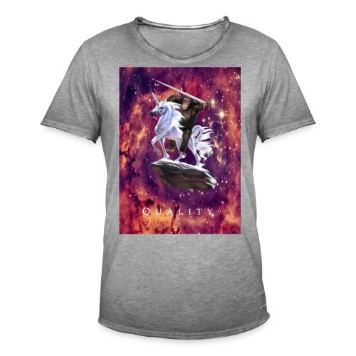 space monkey: the conqueror - Men's Vintage T-Shirt