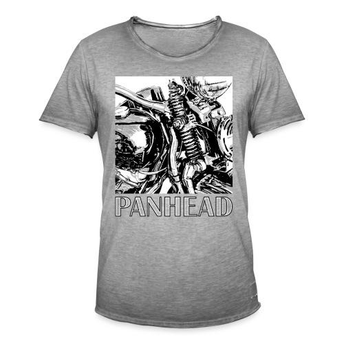 Panhead motordetail 02 - Mannen Vintage T-shirt