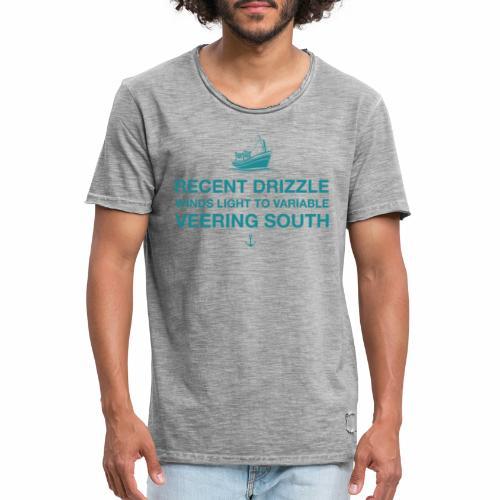 Recent Drizzle - Men's Vintage T-Shirt
