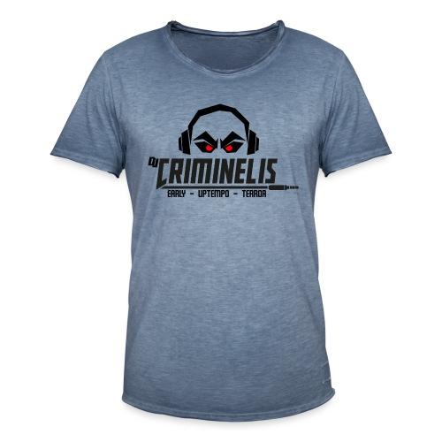 criminelis - Mannen Vintage T-shirt