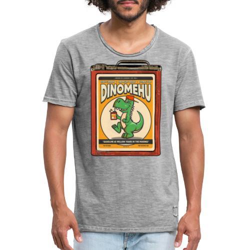 Dinomehu -kanisteri - Miesten vintage t-paita