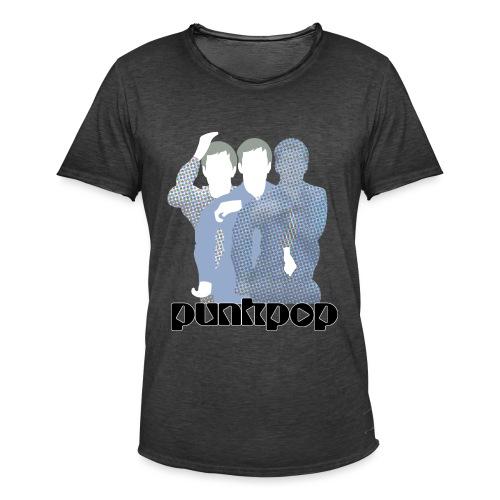 JD Post Punk PunkPop - Maglietta vintage da uomo