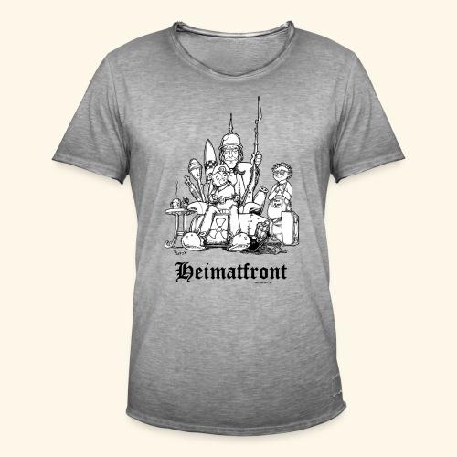 Heimatfront Mama Heimat Waffen Sohn Muttersöhnchen - Männer Vintage T-Shirt