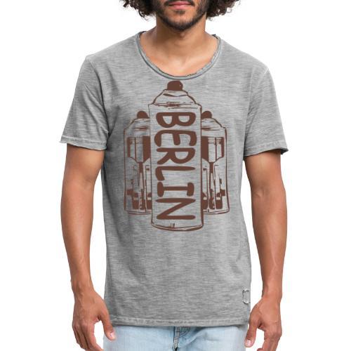 Berlin Power - Männer Vintage T-Shirt
