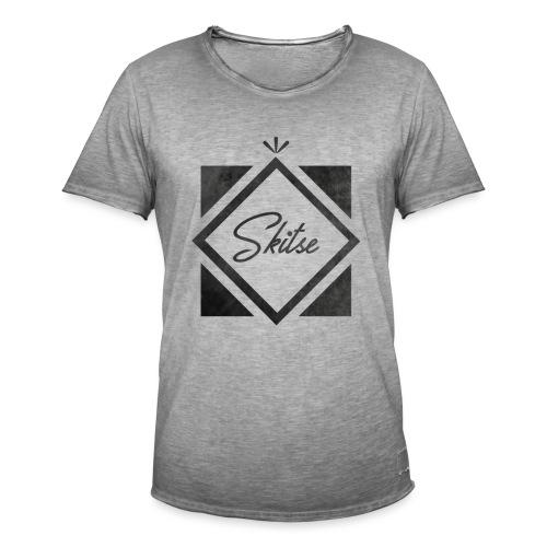 T-shirt Skitse losange - T-shirt vintage Homme