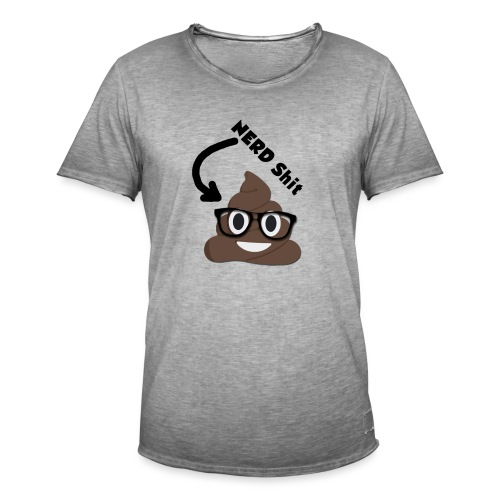 NERD Shit - Männer Vintage T-Shirt