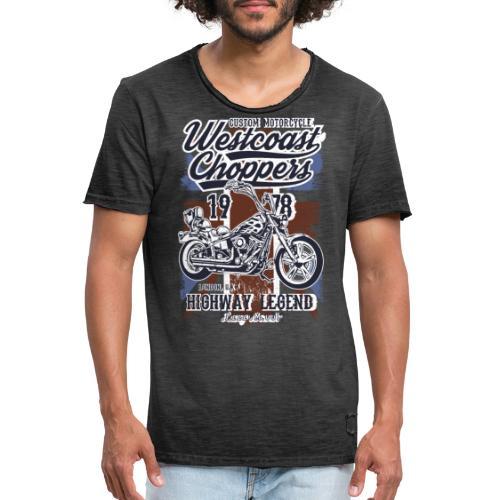 West Coast Chooper Tazzum - Camiseta vintage hombre
