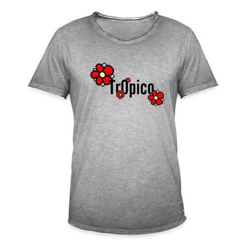 tr0pico - Mannen Vintage T-shirt
