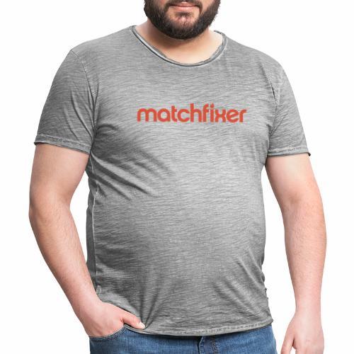 matchfixer - Mannen Vintage T-shirt